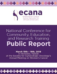 ECANA Conference for Community Education and Research Training