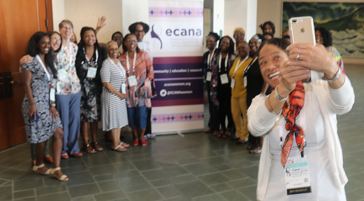 ECANA attendees enjoying their time together