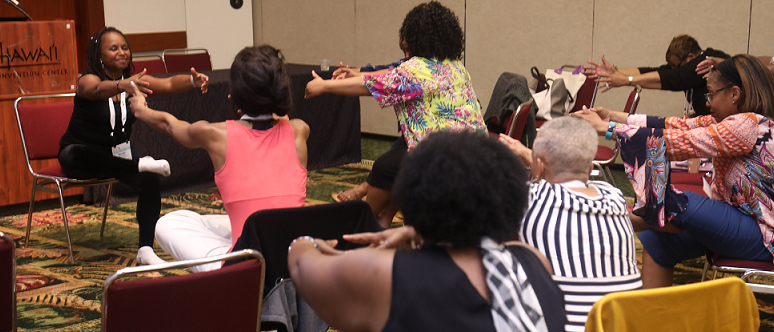 ECANA movement and physical wellness session