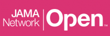 "Pink background with white text that reads, ""JAMA Network Open"""